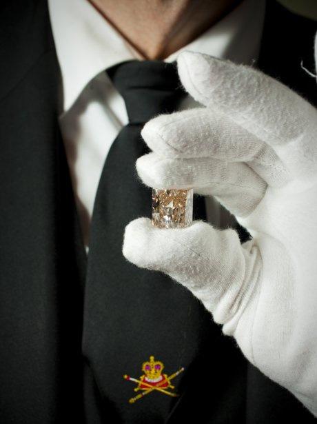 Steinmetz et le Steinmetz Forevermark Jubilee Pink  35.60 cts BusBy Jewelry