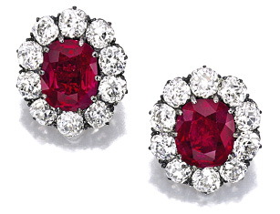 Auction Sotheby's HK octobre 2014 rubis Birmans Duchesse de Roxburghe BusBy Jewelry
