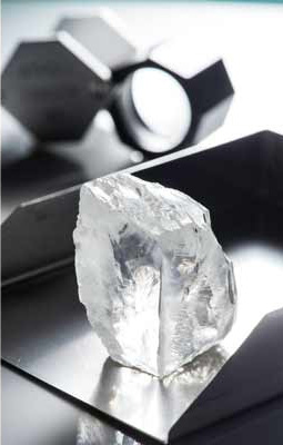Petra Diamonds diamant 232.08 cts mine Cullinan Afrique du Sud BusBy Jewelry