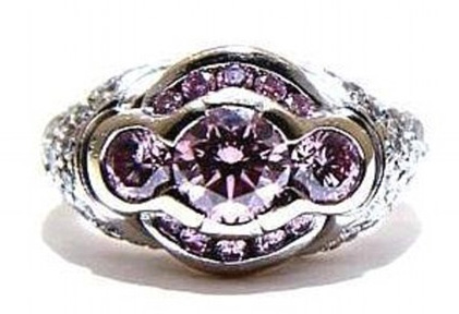 La bague aux diamants roses de theodore bruce auctions BusBy Jewelry