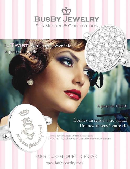 BusBy Jewelry et la twist dans Dreams, magazine de joaillerie