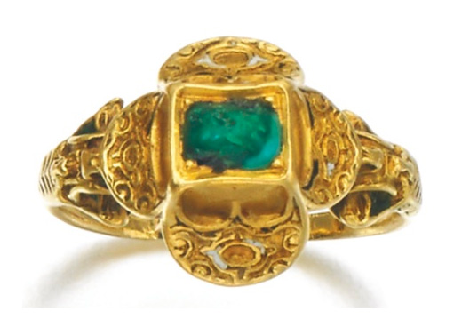 Enchères Sotheby's Londres mars 2014 bague ancienne turquoise BusBy Jewelry