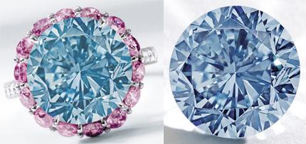 Le diamant Premier Blue busby