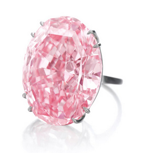 Le Pink Star diamond, le diamant rose étoilé chez Sotheby's Genève le 13 11 2013 busby Jewelry