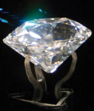 Le diamant Jacobi du Nizam d'Hyderabad BusBy
