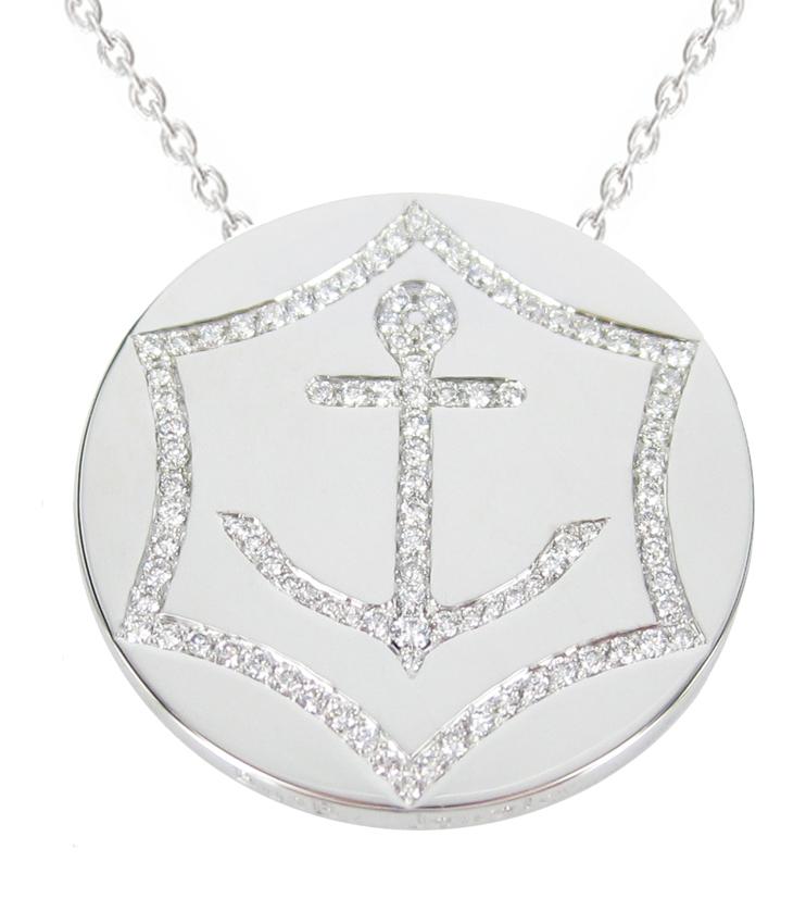 Prix femme d'Affaires Veuve Clicquot medaillon BusBy Jewelry pour Bea Petri