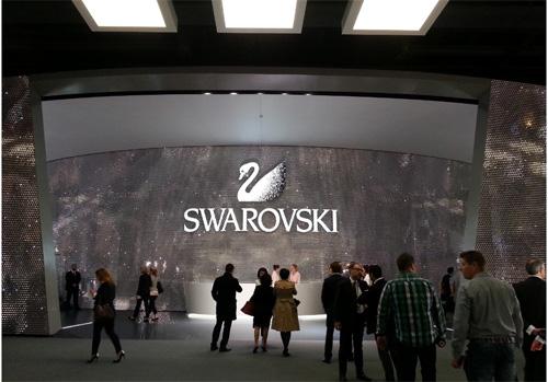 Foire de Basel 2014 Horlogerie et joaillerie chez Swarovski BusBy Jewelry