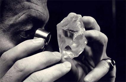 Gem Diamonds diamant brut busby jewelry