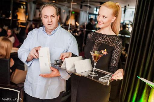 Un cocktail aux diamants le plus cher du monde au Reka à Moscou BusBy Jewelry