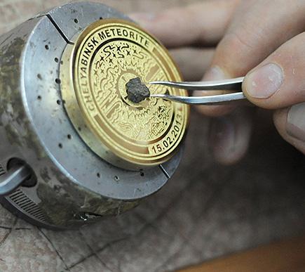 Les JO 2014 de Stochi, medailles olympiques serties de meteorites BusBy Jewelry
