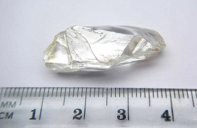 Diamant brut de 32.32 cts Angola BusBy Jewelry