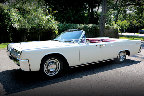 La Lincoln Continental de JFK