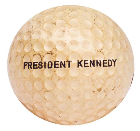 Une balle de golf de JFK