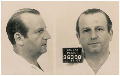 Jack Ruby, meurtrier de Lee Oswald