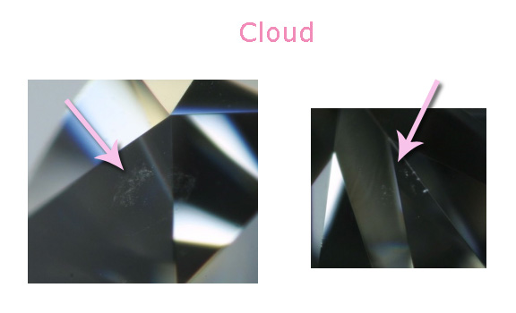 diamant inclusions nuage busby