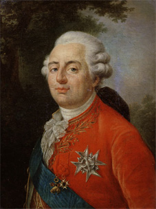 l'affaire du collier Louis XVI portrait