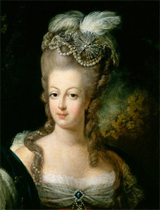 l'affaire du collier Marie-Antoinette portrait