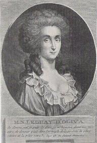 l'affaire du collier :  la baronne d'Oliva