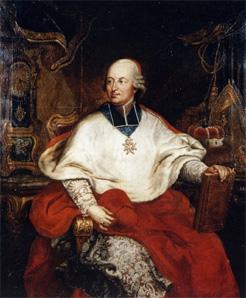 l'affaire du collier :  le cardinal de Rohan portrait