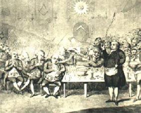 l'affaire du collier :  le mage Cagliostro et ses seances de spiritisme
