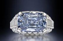 Le diamant bleu de Mr Graff busby