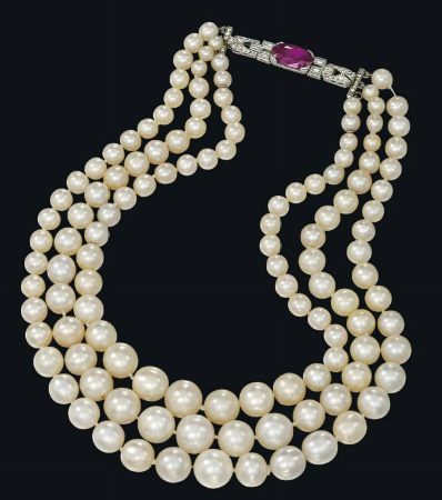 Collier de perles fines BusBy Jewelry