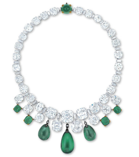 Un collier d'émeraudes et de diamants Boucheron BusBy Jewelry