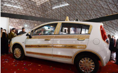 the Vibrant Gujarat Car