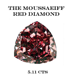 diamant fancy vivid red record