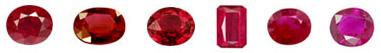 rubis couleur