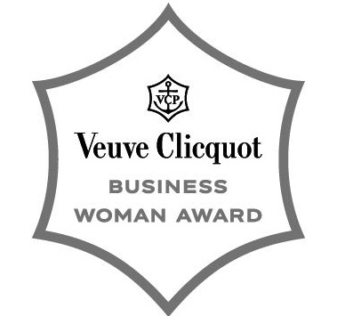 Logo prix de la femme d'affaires Business Woman Award Veuve Clicquot