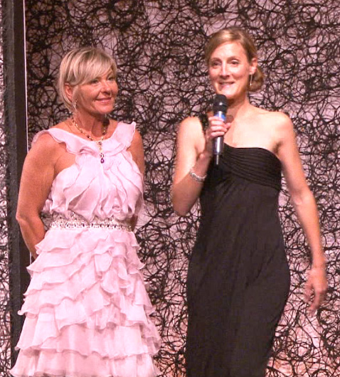 Prix femme d'Affaires Veuve Clicquot Babette Keller et BusBy Jewelry  M. Blin de Grandpre